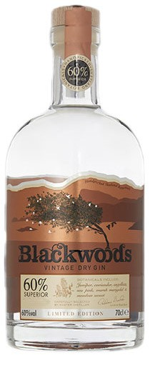 Blackwoods Vintage Dry Gin Gin 0,7 ltr.