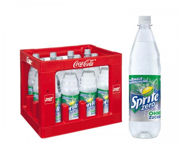 Sprite Zero Kiste 12x1,0 ltr. PET