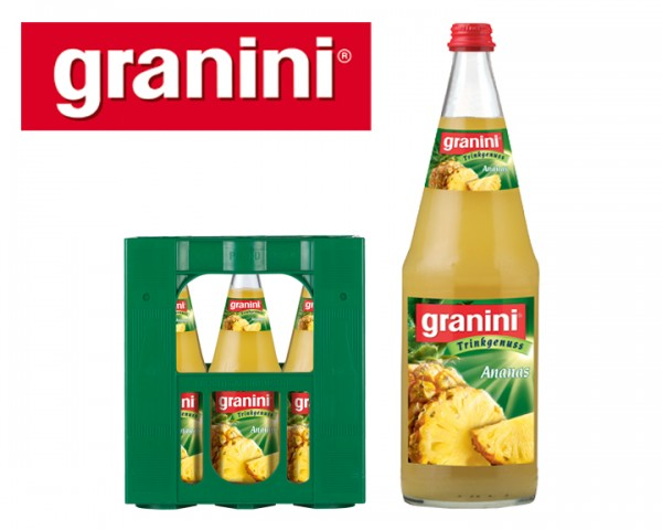 Granini Ananassaft 6x1,0 ltr