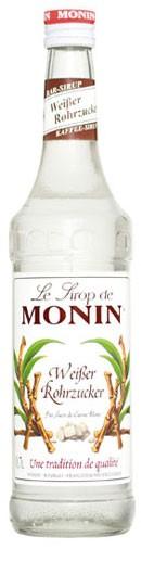 Monin Rohrucker weiß Flasche 0,7 ltr.