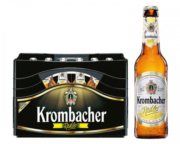 Krombacher Radler  24x0,33 ltr