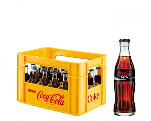 Coca Cola Zero Kiste 24x0,2 ltr.