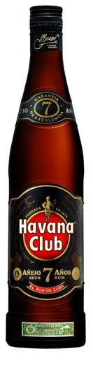 Havanna Club 7 Jahre Flasche 0,7 ltr.