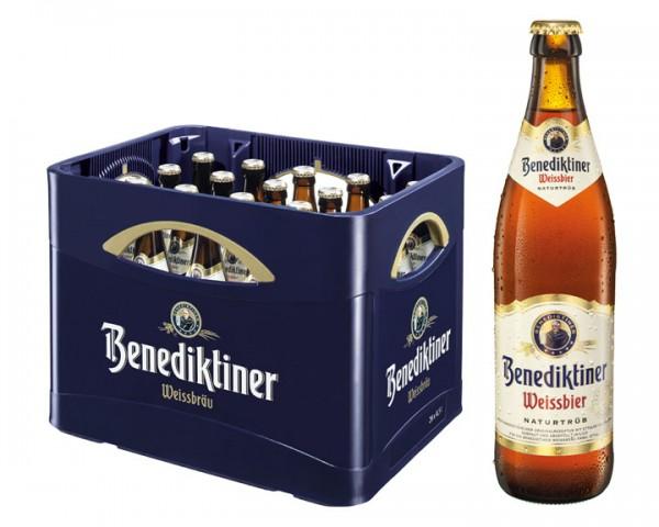 Benediktiner Weissbier Naturtrüb 20x0,5 ltr