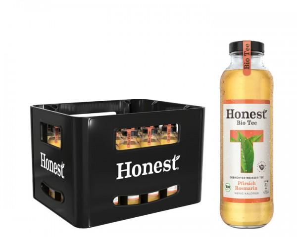 Honest Tea Pfirsich Rosmarin Kiste 24x0,33 ltr.