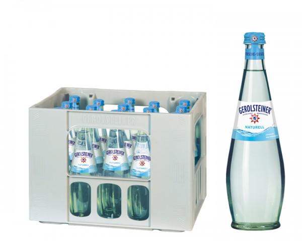 Gerolsteiner Gourmet Naturelle Kiste 15x0,5 ltr