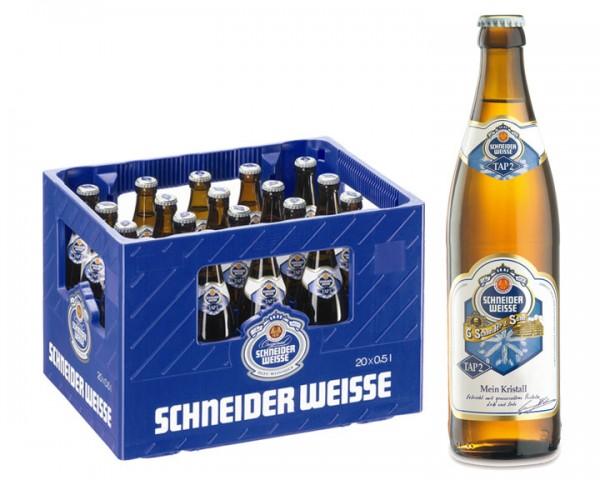 Schneider Weisse Kristall 20x0,5 ltr