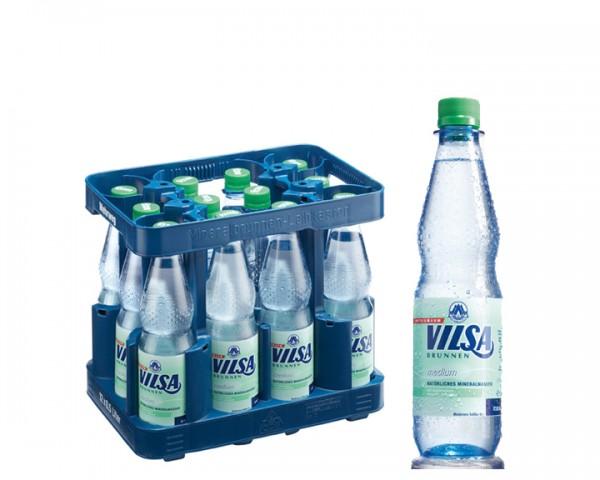 Vilsa Medium Kiste 12x0,5 ltr. PET