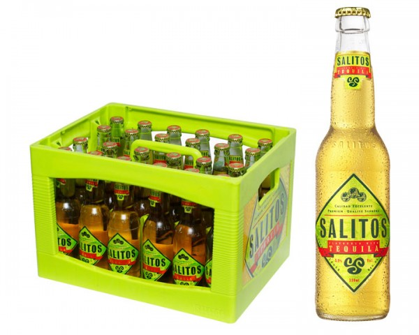 Salitos Tequila Beer 24x0,33 ltr