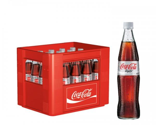 Coca Cola light Kiste 20x0,5 ltr.