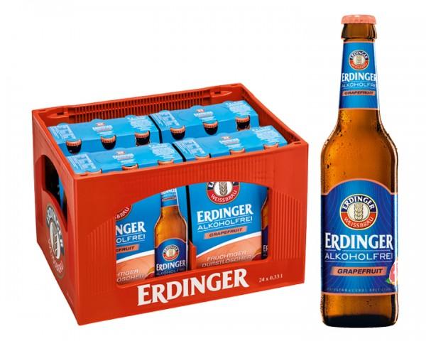 Erdinger alkoholfrei Grapefruit 24x0,33 ltr