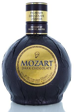 Mozart Dark Chocolate Flasche 0,5 ltr.