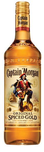 Captain Morgan Spiced Gold Flasche 0,7 ltr.