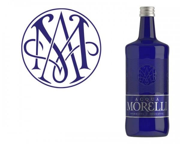 Aqua Morelli Frizzante12x0,75 ltr