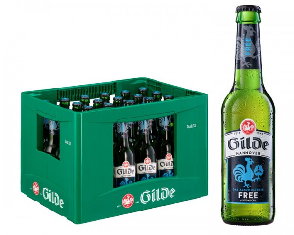 Gilde Free 24x0,33 ltr