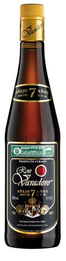 Ron Varadero  7 Jahre Flasche 0,7 ltr.