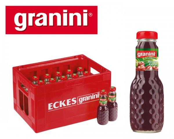 Granini Kirsch Nektar Kiste 24x0,2 ltr.