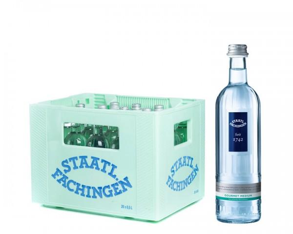 Staatl. Fachingen Gourmet medium Kiste 20x0,5 ltr.