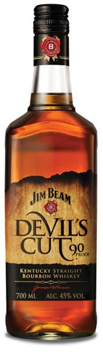 Jim Beam Devil´s Cut Flasche 0,7 ltr.