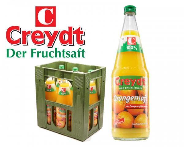 Orangensaft Creydt 6x1,0 ltr