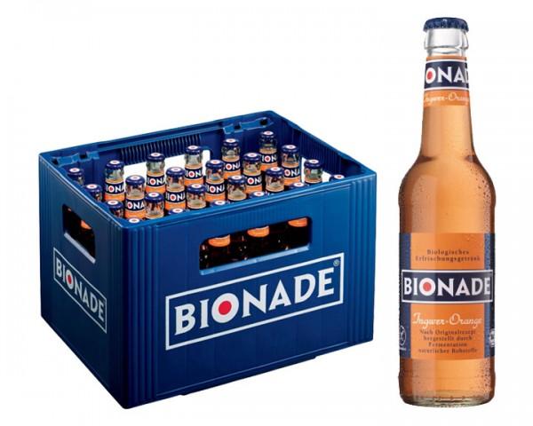 Bionade Ingwer Orange 24x0,33 ltr