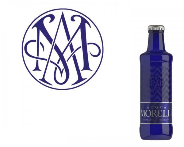Aqua Morelli Frizzante 24x0,25 ltr