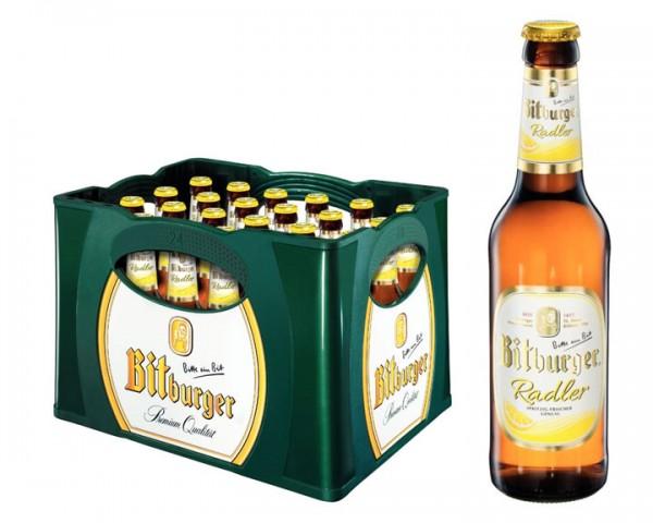 Bitburger Radler Kiste 24x0,33 ltr