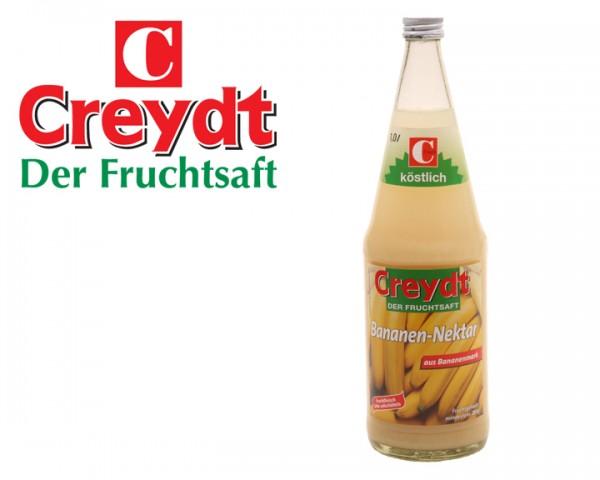 Creydt Bananen Nektar 6x1,0 ltr