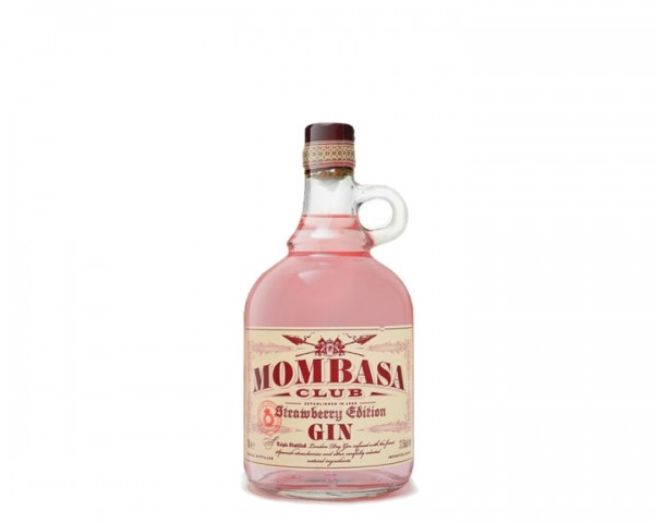 Mombasa Club Strawberry Gin Flasche 0,5 ltr.