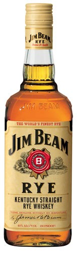 Jim Beam Rye Flasche 0,7 ltr.
