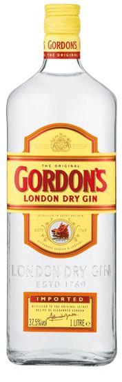 Gordon´s Dry Gin Flasche 1,0 ltr.
