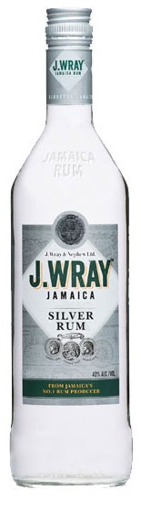 J. Wray Silver Classic Flasche 1,0 ltr.