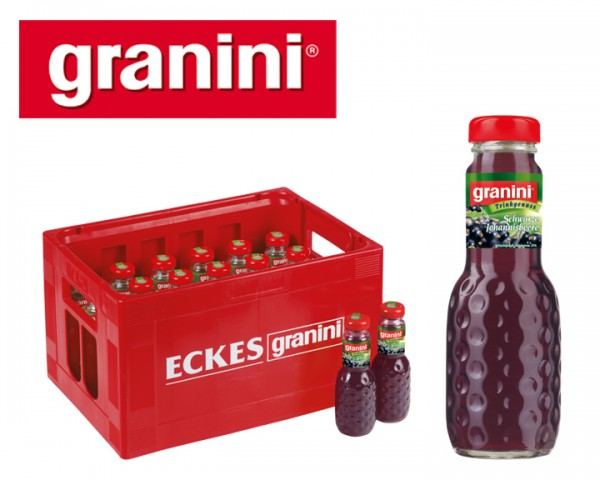 Granini Johannisbeer Nektar Kiste 24x0,2 ltr.