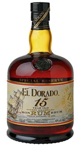 El Dorado Special Reserve15 Years Flasche 0,7 ltr.