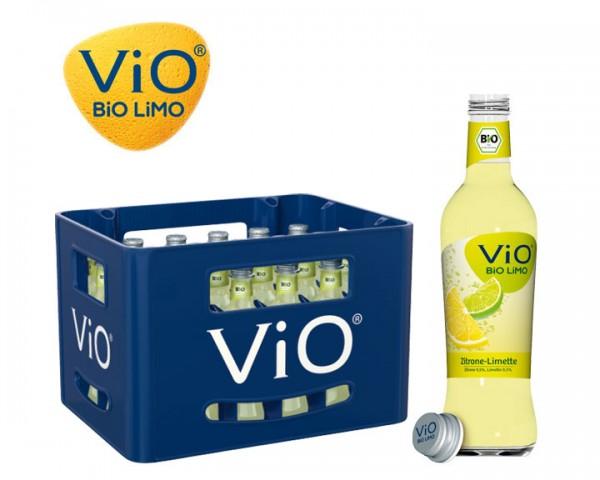 Vio Limo Zitrone Limette Kiste 24x0,3 ltr.