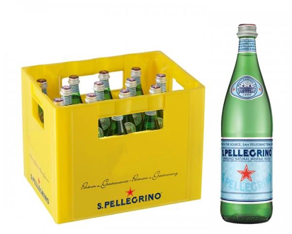 San Pellegrino Kiste 16x0,75 ltr