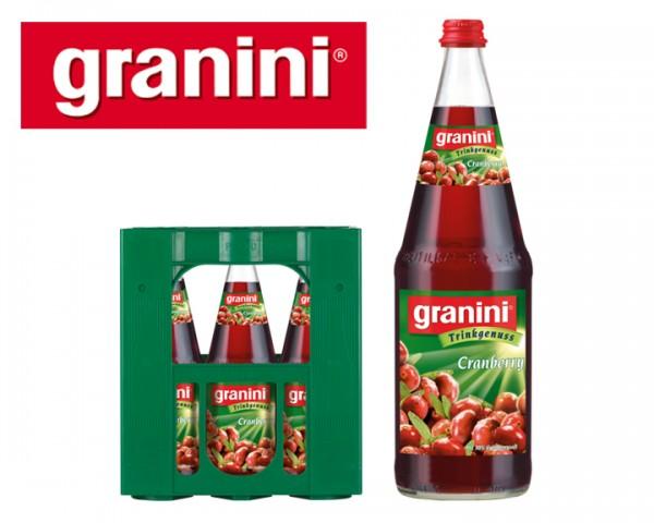 Granini Cranberry-Nektar 6x1,0 ltr