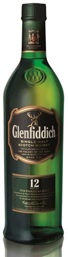 Glenfiddich 12 Jahre Flasche 0,75 ltr.