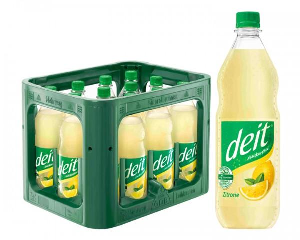 Deit Zitrone trüb 12x1,0 ltr PET