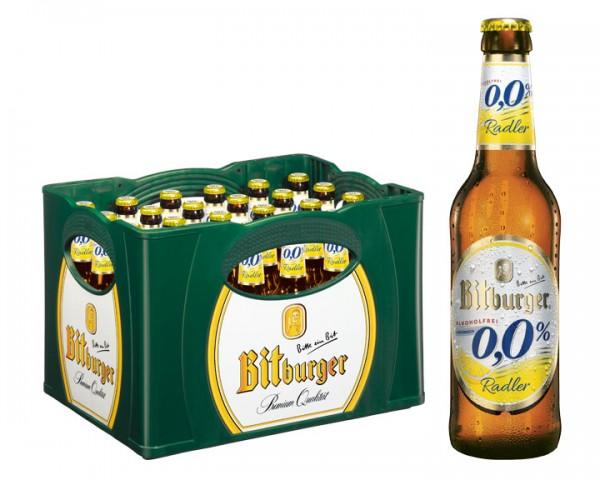 Bitburger Radler Alkoholfrei 24x0,33 ltr