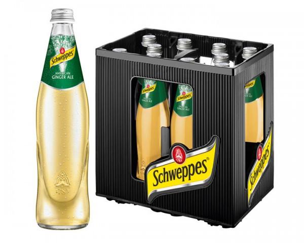 Schweppes Ginger Ale 10x0,5 ltr.