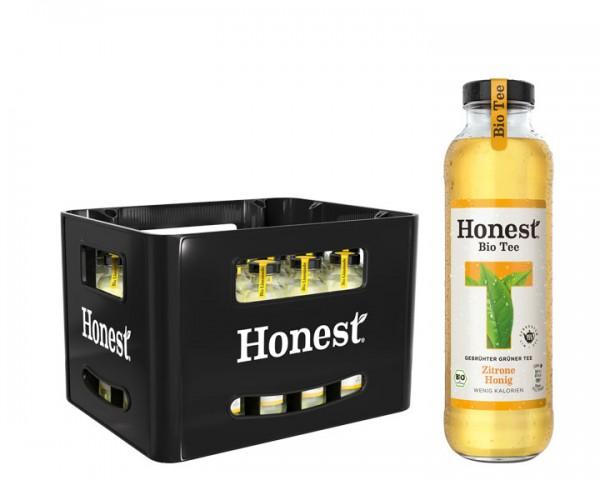 Honest Tea Zitrone Honig Kiste 24x0,33 ltr.