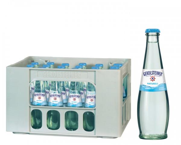 Gerolsteiner Gourmet Naturelle Kiste 24x0,25 ltr.