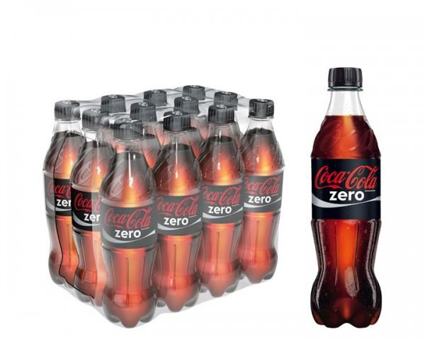 Coca Cola Zero Pack 12x0,5 ltr. PEW