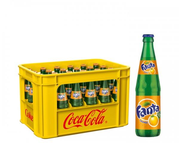 Fanta Orange Kiste 24x0,33 ltr.