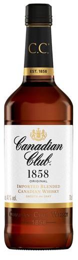 Canadian Club 1858 Flasche 0,7 ltr.