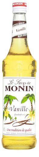Monin Vanille Flasche 0,7 ltr.