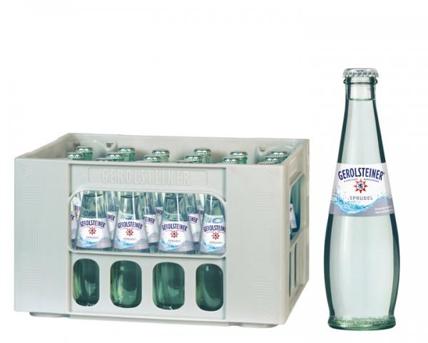 Gerolsteiner Gourmet Sprudel Kiste 24x0,25 ltr.