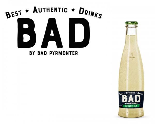 BAD Ginger Ale Kiste 24x0,25 ltr