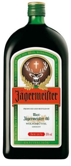 Jägermeister Flasche 1,0 ltr.